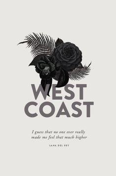West Coast Lana Del Ray -  by Cocorrina