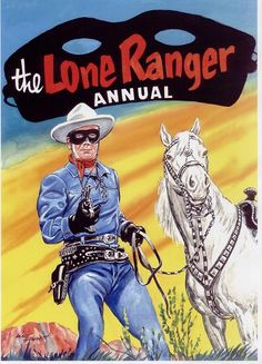 Lone Ranger Comic Comic Book Covers, Comic Books Art, Comic Art, Classic Books, Classic Tv, A Mascara Do Zorro, Green Hornet, Western Comics, Comic Book Superheroes