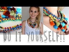 Haz tu propio collar de moda!! / Vikguirao - YouTube