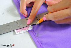 DIY Tutorial: Make Your Own Ruched Bikini Bottom - iLoveSexy Blog