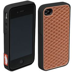 0ef5941d76c  COMING IN AUGUST  The new flexible rubber Vans Phone Case features a  waffle sole replica on the back