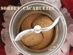 Sorbet cacahuètes