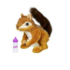 Fur Real Friends Newborn Chipmunk by Hasbro. $29.99. This cute and cuddly friend imitates baby chipmunk movements and sounds.