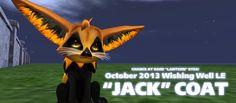2013 Halloween Wishing Well coat - Jack