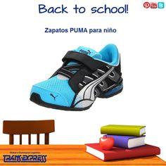 Zapatos de las mejores marcan para el día de la clase de deporte de tu hijo. TransExpress compras en internet en El Salvador. Costo aprox $103.30 http://amzn.com/B007SJJAM0