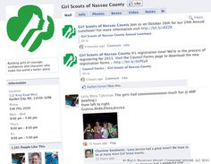 Girl Scouts of Nassau County FB Page