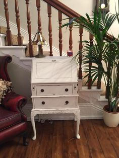 Evelong Vintage hand painted Beauty! Vintage Furniture #FromLofttoLoved