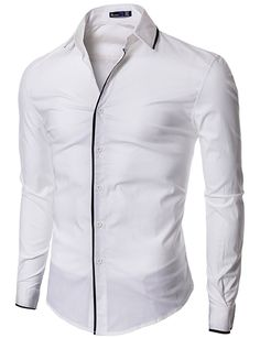 Dress Shirt with Slim Fit: Clothing