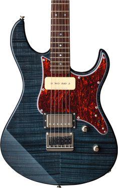 Yamaha 611 Pacifica Electric Guitar for sale online Electric Guitar For Sale, Electric Guitars, Guitar Design, Yamaha, Bass, Sweet, Guitars, Double Bass