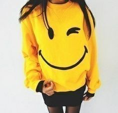 Smiley sweater