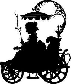 карета девушка