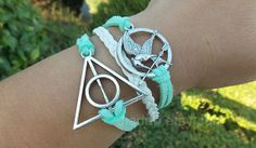 "Check out Mockingjay pin bracelet, apple green bracelet,Harry Potter bracelet, hunger birds bracelets, leather bra"" Decal @Lockerz http://lockerz.com/d/27196882?ref=gabriel.iordache2396"