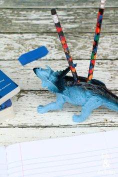 DIY Dinosaur Pencil