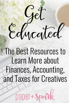 Get Educated – The Best Resources to Learn More about Accounting & Taxes - Business Things - Finance Small Business Accounting, Business Education, Business Advice, Business Marketing, Online Business, Business Coaching, Bookkeeping Business, Business Money, Business School