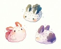 Cute sea bunnys