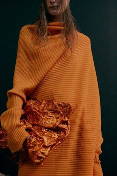 Youth and pop culture provocateurs since Fearless fashion, music, art, film, politics and ideas from today's bleeding edge. Orange Jumpers, Orange You Glad, Orange Color, High Fashion, Knitwear, Women Wear, Style Inspiration, My Style, Stylish