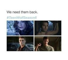 Bring Isaac back definitely, it'd be cool to have Jackson too . Where'd Derek go though ?! I've just finished season 4?!