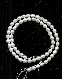 Bright White Cultured Pearls