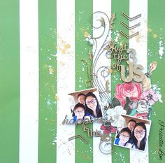 A project for 2Crafty Chipboard.  Check out my blog link for more details. http://growingwithgabriel.blogspot.sg/2016/06/june-projects-for-2crafty-chipboards.html Thank you in advance. #scrapbook #layout #2craftychipboards