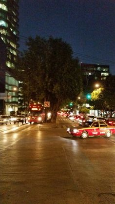 Insurgentes Sur rush hour traffic