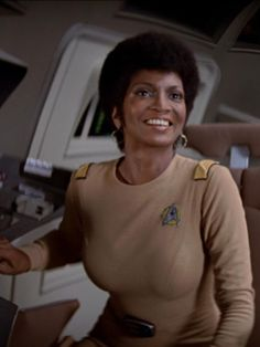 """""""Star Trek: The Motion Picture"""": The uniform is from the 2270s, but the hairdo is from 1979."""