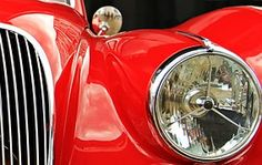 Jaguar, Oldtimer, Rouge, Automatique
