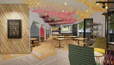 The core of the brief was to establish a social space in the reception lobby which functions both as a physical manifestation of the FCB brand. Future Trends, Environmental Design, Dubai Uae, Brand Design, Design Agency, Hospitality, Valance Curtains, Workplace, South Africa