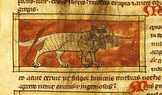 This cat just…just CANNOT cope with this mouse. | 44 Medieval Beasts That Cannot Even Handle It Right Now
