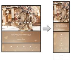 Responsive Email Design from Burberry