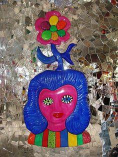 Visage de femme - Niki de St Phalle