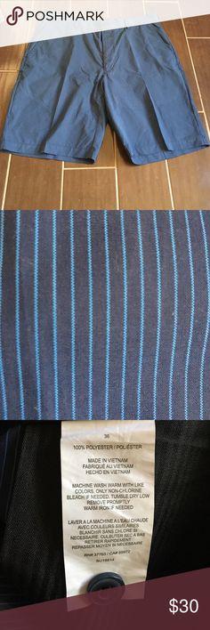 PGA tour men's shorts size 36 blue/blue PGA TOUR men's shorts size 36 dark blue and light blue like brand new PGA Tour Shorts Athletic