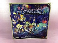 Masmorra Dungeons of Arcadia Quest Starter Base Core Board Dice RPG Game NEW