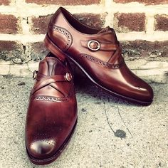 """Shoe Splash: """"SOME PEOPLE CROSS YOUR PATH AND CHANGE YOUR WHOLE DIRECTION."""" Designer #BarkerBlack #DoubleMonk #beinspired #BernieAndDuff #TheArtOfFly #GroomingConcierge #MensStyleAdvice #Opulence..."""