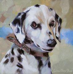 "Daily Paintworks - ""Dallas"" - Original Fine Art for Sale - © Joanna Olson"