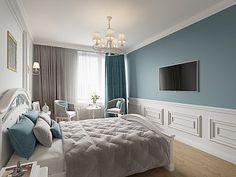 Интерьер 3-х комнатной квартиры в стиле прованс, ЖК «Царская столица», 105 кв.м.