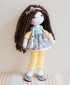 Handmade Crochet Dolls by LinaMarieDolls on Etsy