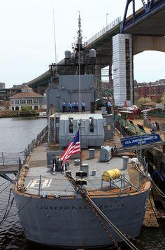 USS Joseph P. Kennedy Jr. at Battleship Cove in Fall River, Massachusetts. #soMA #scenesofnewenlgand