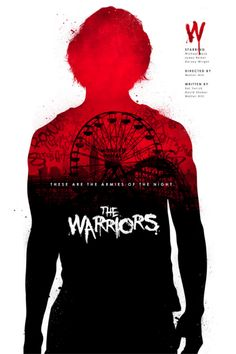 The Warriors (1979) ~ Minimal Movie Poster by Joseph Harrold #amusementphile