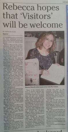 Book launch feature in Cleethorpes Chronicle