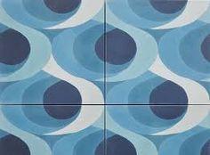 cement tiles #pattern #repeat #blue