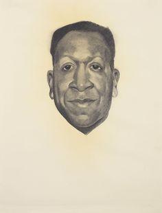 Georgia O'Keefe,  portret uit 1943 van Beauford Delaney (1901-1979) een Amerikaanse modernistische schilder. Bekend door zijn werk met de Harlem Renaissance in de jaren dertig en veertig, evenals zijn latere werken in abstract expressionisme na zijn verhuizing naar Parijs in de jaren vijftig.
