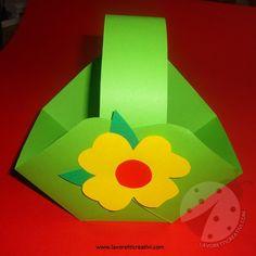 A Pasqua dovete mettere in casa dei cestini, utili sia come decorazioni sia come porta ovetti. Guardate la forma di questo cestino; se è un lavoretto che volete provare a realizzare, procuratevi …
