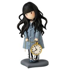 Gor-juss A26477 - Figurita, resina, 15 cm, color blanco y azul: Amazon.es: Hogar