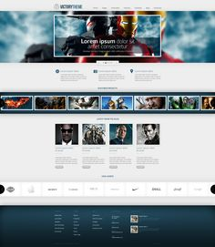 Web Design: WordPress Template by *VictoryDesign on deviantART #webdesign #trends