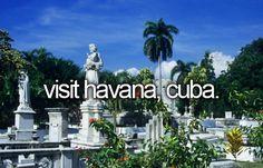 Visit Havana, Cuba #bucketlist