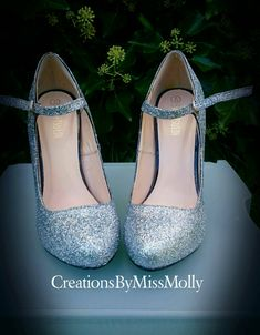 Excited to share the latest addition to my #etsy shop: Glitter Customised Shoes http://etsy.me/2CUOMJE
