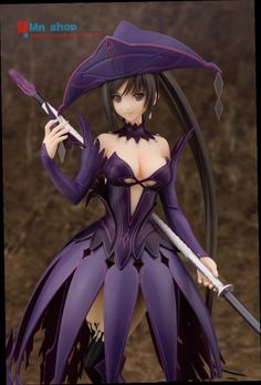 54.99$  Watch here - http://alirm1.worldwells.pw/go.php?t=32651794342 - 27CM Alphamax Sexy Shining Ark Sakuya Mode Violet Boxed PVC Action Figure Collection Model Toys P45 54.99$