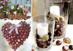 Buckeye Crafts, Fall Deco, Appetizers, Autumn, Table Decorations, Halloween, Drinks, Happy, Weddings