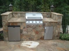 Grill of my dreams.if I dreamed about grills. Outdoor Kitchen Patio, Outdoor Fun, Outdoor Living, Outdoor Decor, Dream Properties, Backyard Paradise, Summer Kitchen, Life Design, My Dream Home