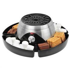 Flame Free Smore's Maker #smores #sweet #dessert #chocolate